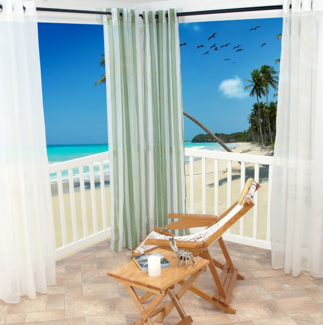 Outdoor Curtain Panels 108