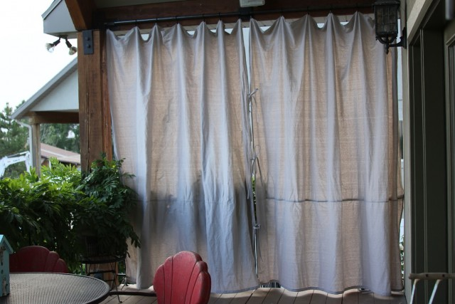 Outdoor Privacy Curtains For Patio