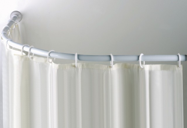 Shower Curtain Rods That Attach To Ceiling