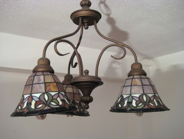 Stained Glass Chandeliers For Sale