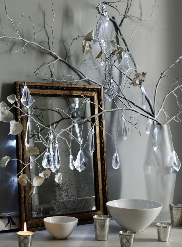 Tree Branch Crystal Chandelier