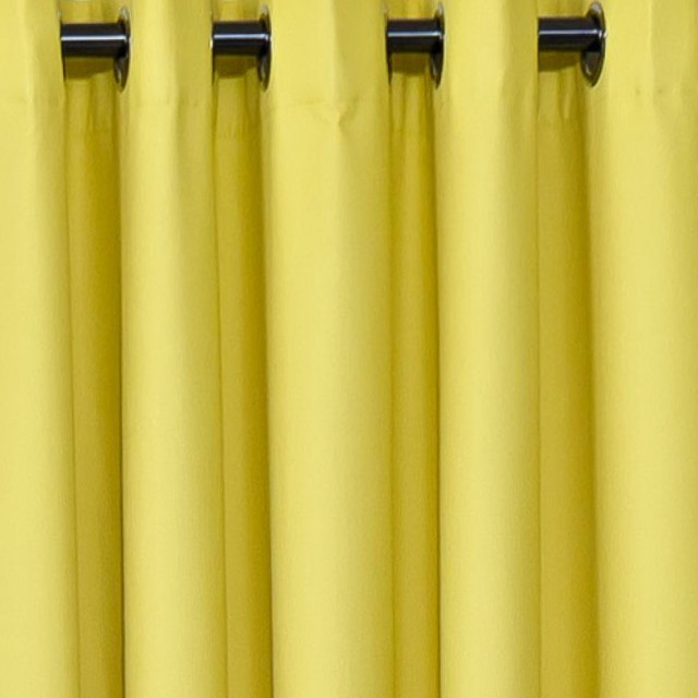 Yellow Room Darkening Curtains