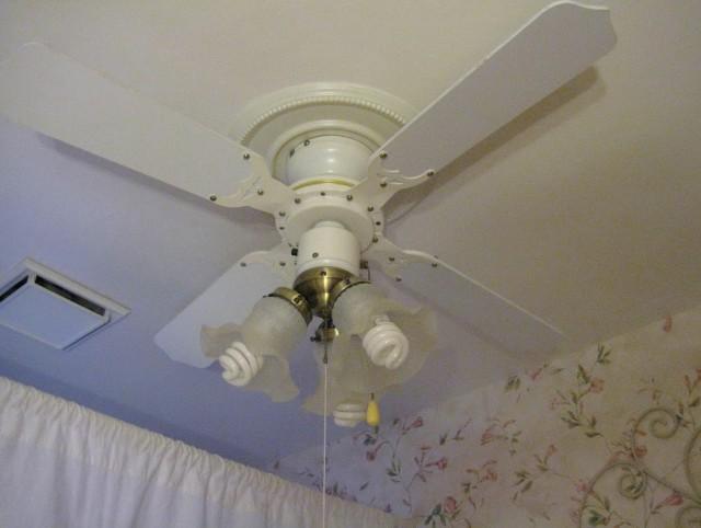 Ceiling Fan Chandelier Combo