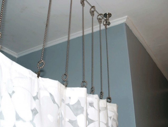 Ceiling Mount Shower Curtain Rod