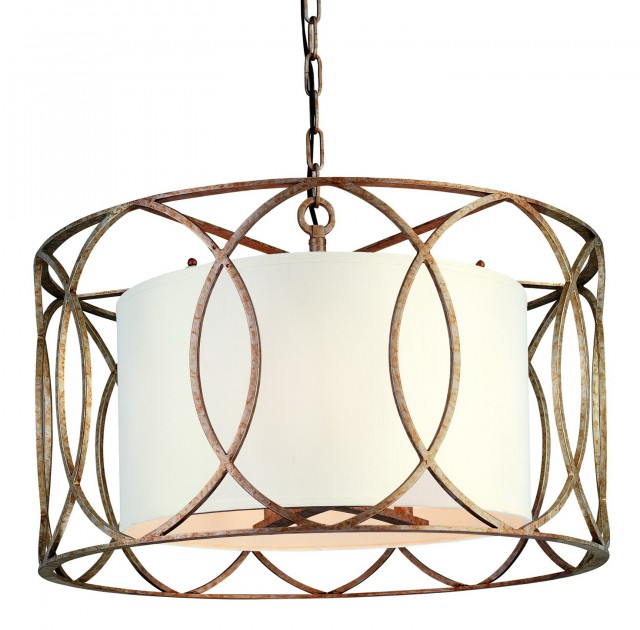 Chandeliers With Drum Shades