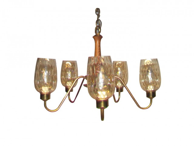 Clear Glass Chandelier Replacement Shades