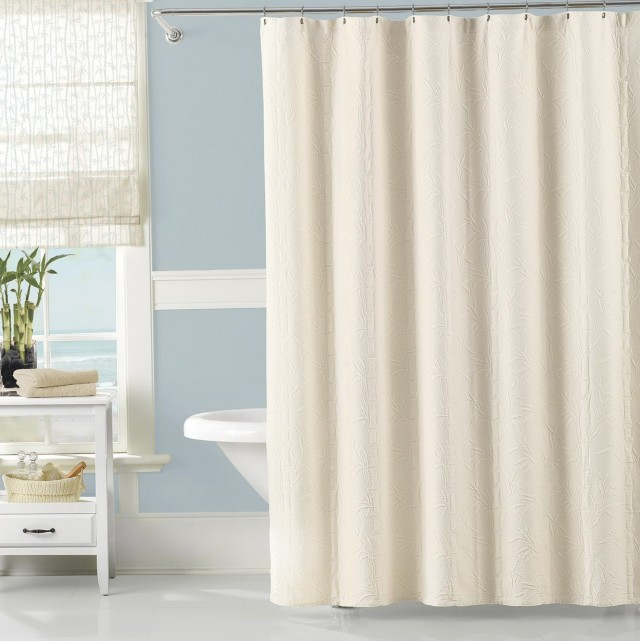 Cotton Shower Curtain Liner