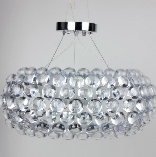 Crystal Ball Chandelier Lighting Fixture