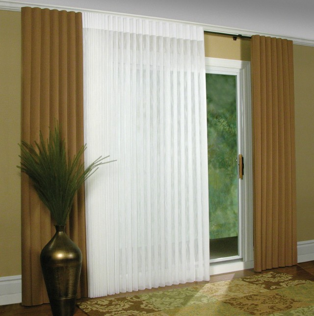 Curtains And Blinds For Sliding Glass Doors