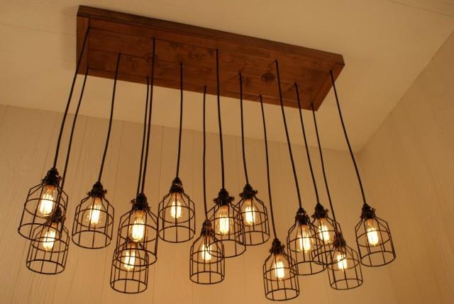 Edison Light Bulb Chandelier