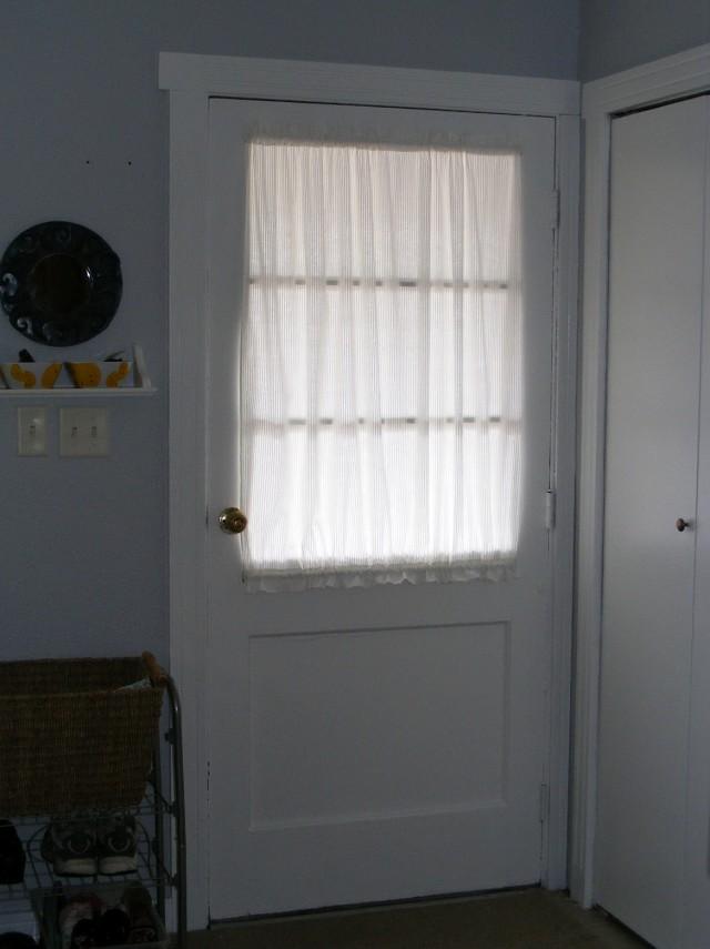 Front Door Window Curtains