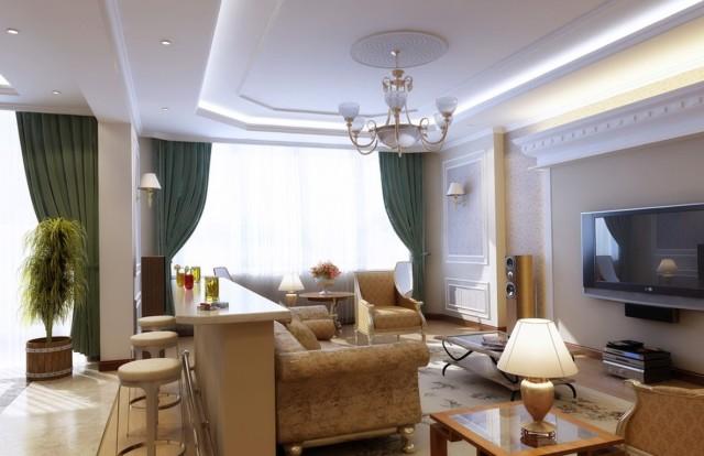 Living Room Chandelier Lighting
