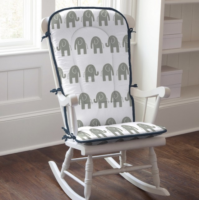 Rocking Chair Cushions With Arm Pads
