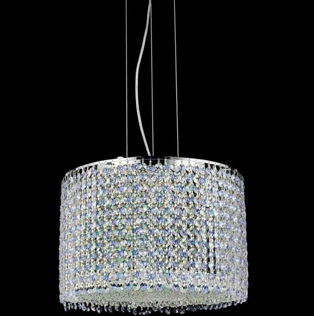 Round Modern Crystal Chandelier