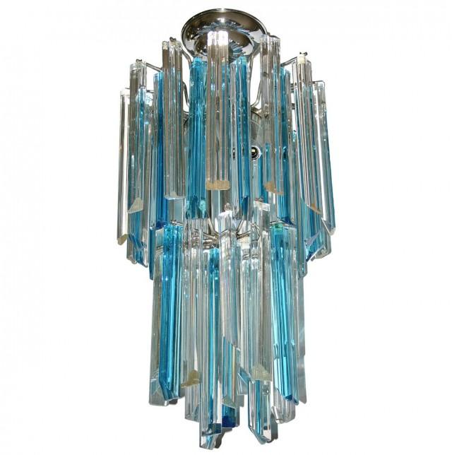 Turquoise Chandelier Light Fixture