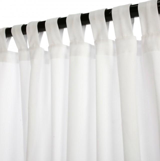 White Cotton Curtains 108