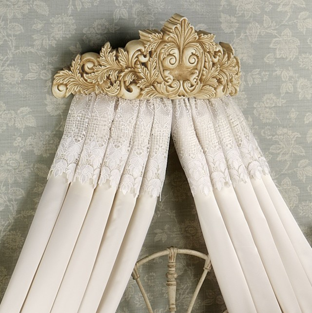 White Lace Curtains India