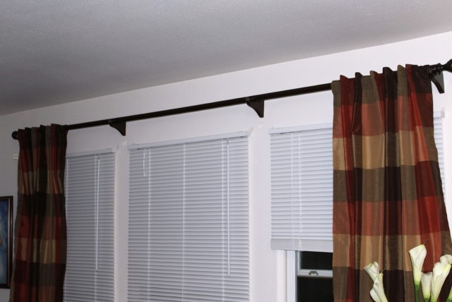144 Curtain Rod Home Depot