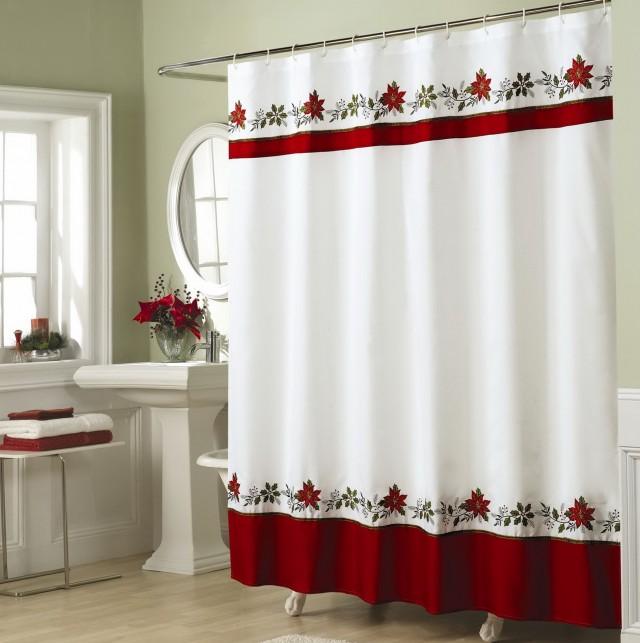Cheap Christmas Shower Curtains