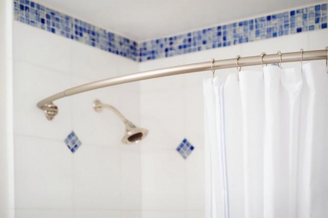 Clean Shower Curtain Mildew