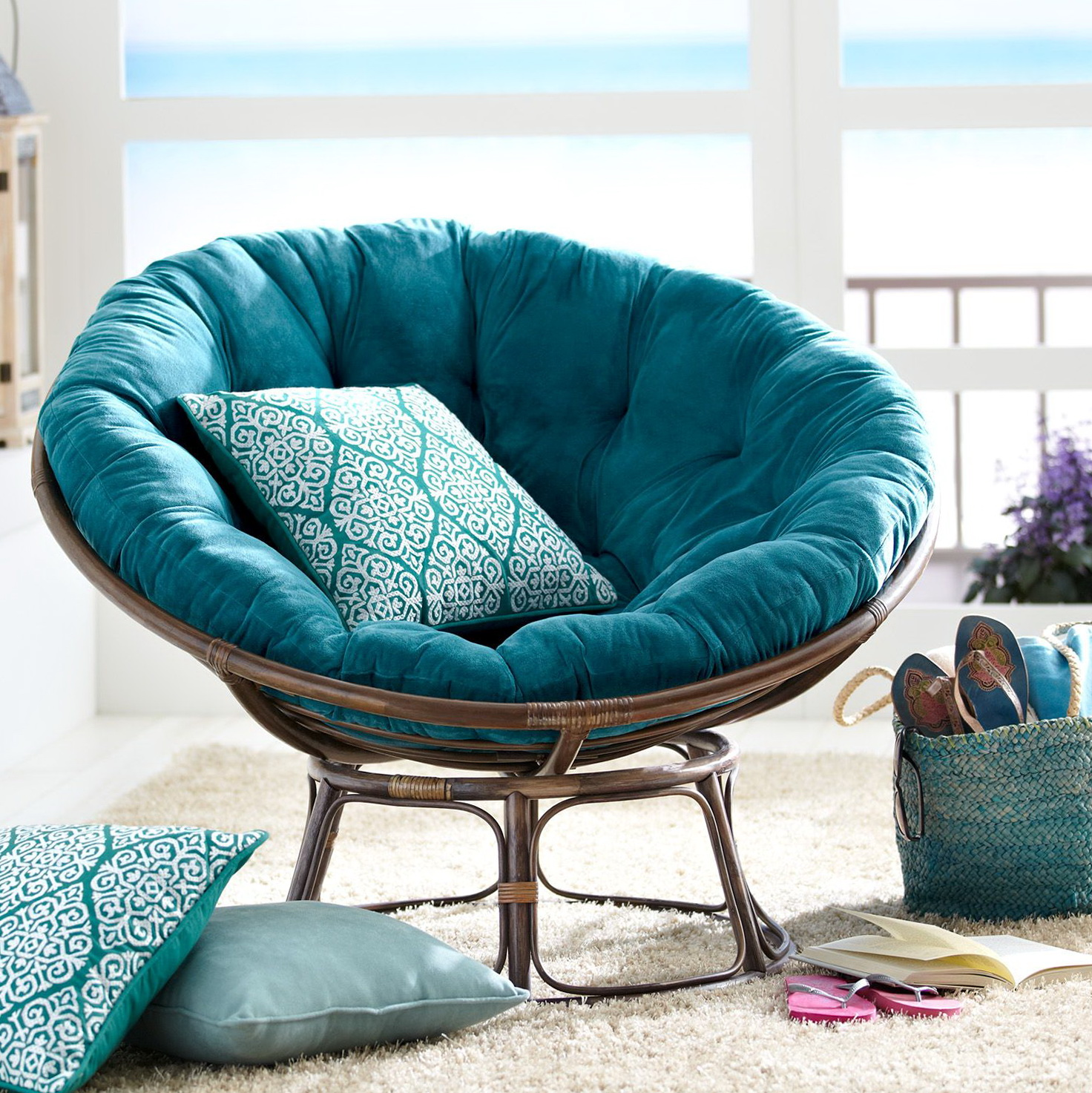 Papisan Chair Double Papasan Cushion Pier 1 Home Design Ideas
