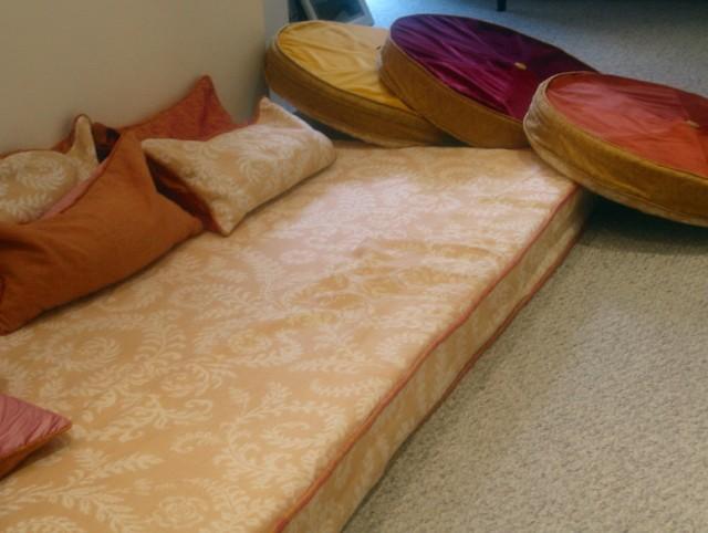 Floor Cushion Seating Ideas
