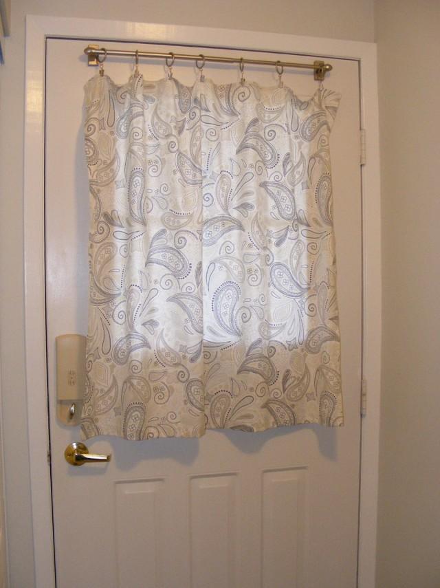 Front Door Window Panel Curtains