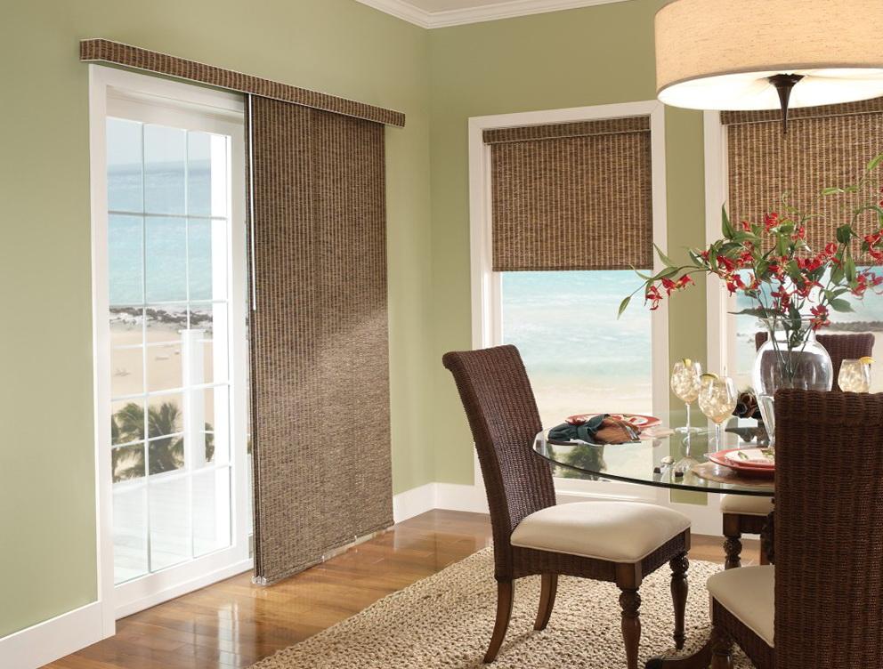 Glass Door Curtains Ideas