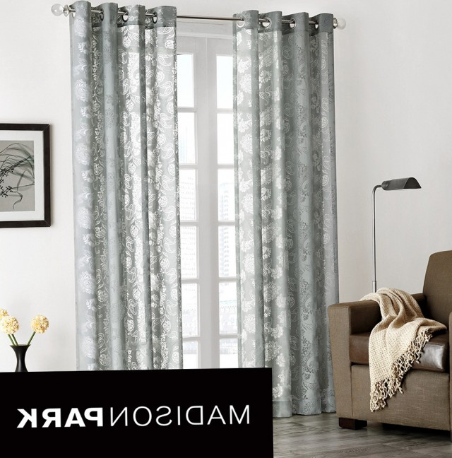 Light Grey Sheer Curtains
