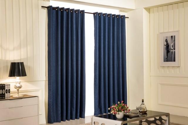 Navy Blue Blackout Curtains 63