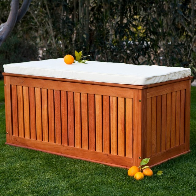 Patio Cushion Storage Ideas