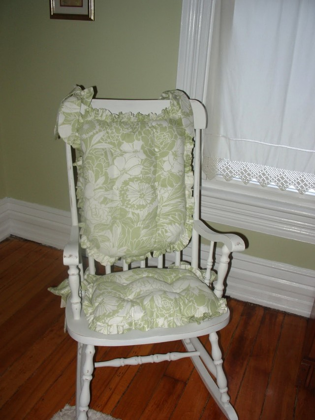 Rocking Chair Cushion Sets For Nursery