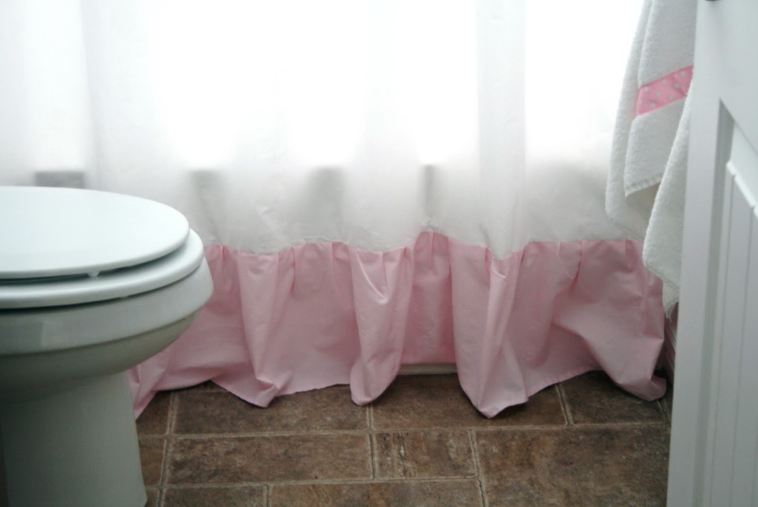 Shower Curtain Length Extender