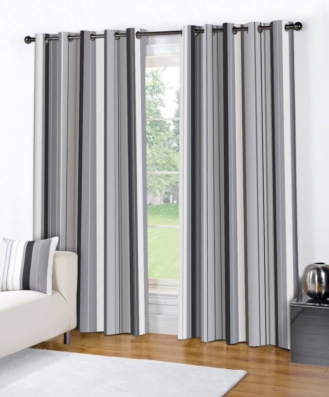 Striped Curtains Horizontal Or Vertical