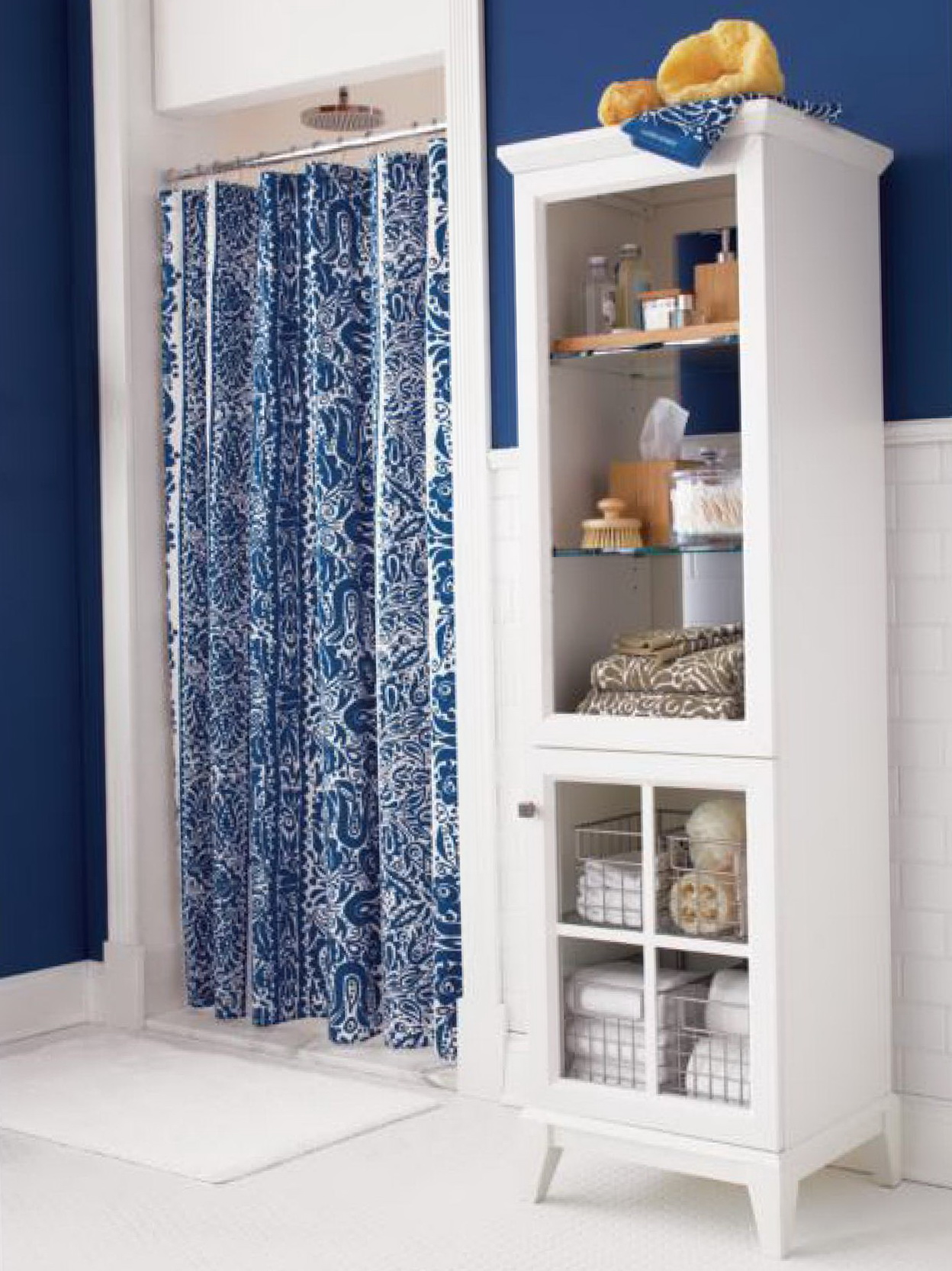 Crate And Barrel Shower Curtain