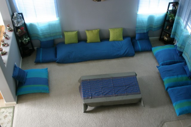 Indian Style Floor Cushions