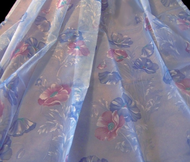 Multi Color Sheer Curtains