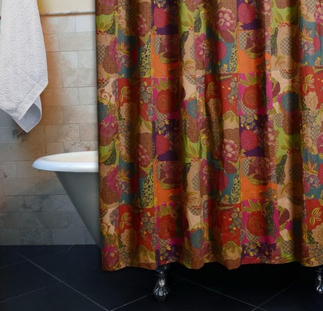 Multi Color Shower Curtains