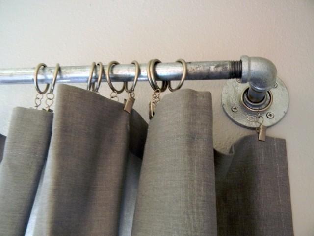 Pipe Curtain Rod Ideas
