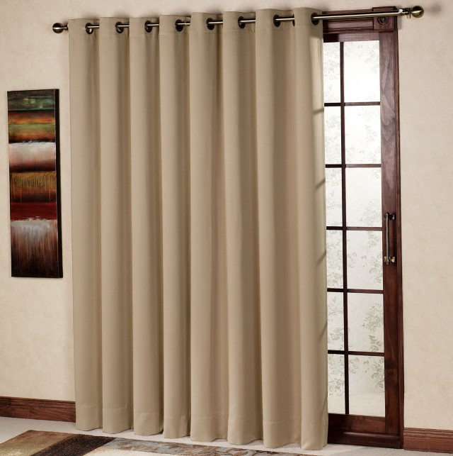 Single Panel Curtain For Sliding Glass Door