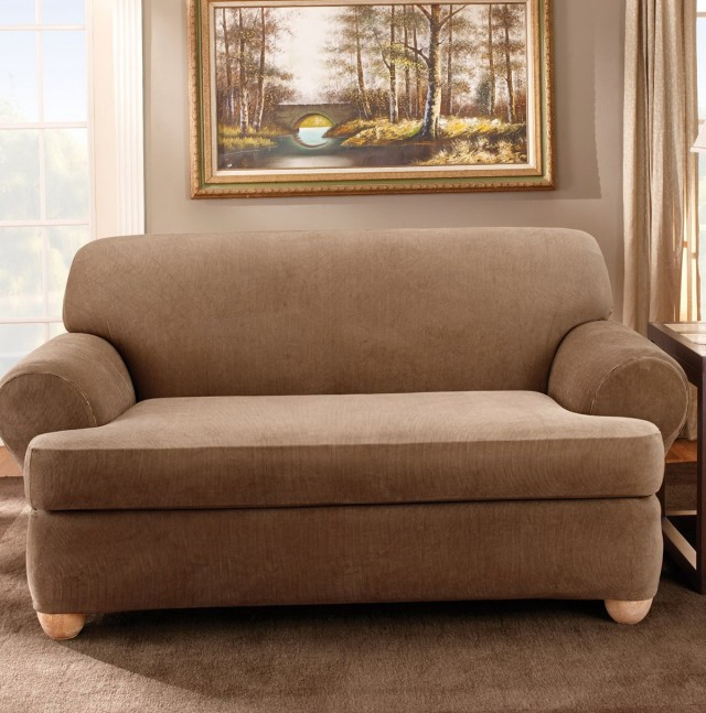 T Cushion Slipcover Chair