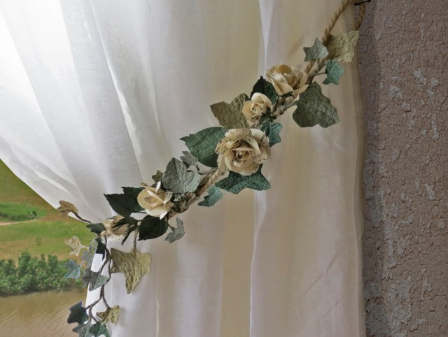 Outdoor Curtain Tie Back Ideas