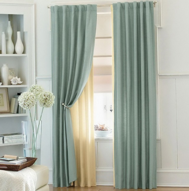 Pale Blue Curtains Bedroom