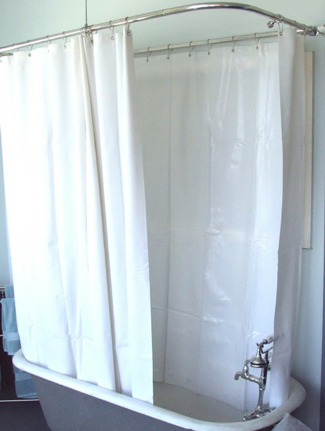 Shower Curtains For Clawfoot Tub Canada