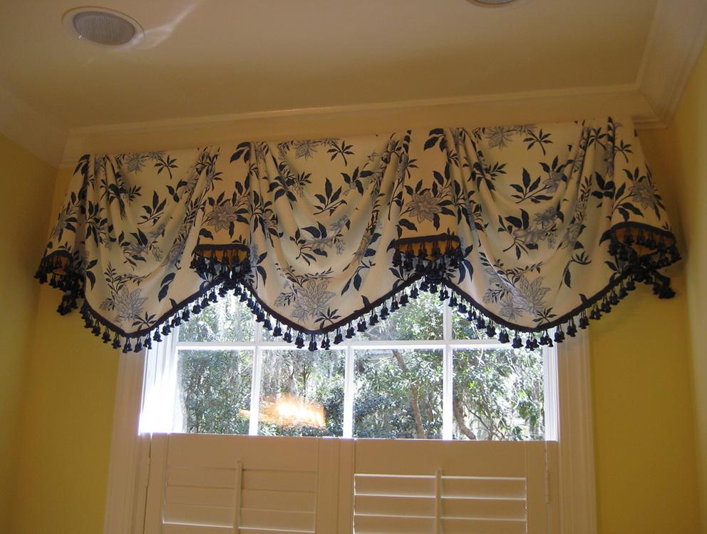 Swag Curtain Valance Ideas