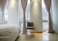 3 Window Bedroom Curtains