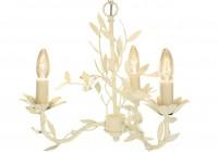 Aneela Cream 3 Light Chandelier
