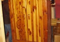 Antique Cedar Wardrobe Closet