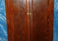 Antique Wood Wardrobe Closet