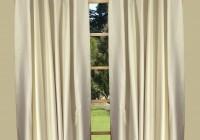 Back Tab Window Curtains